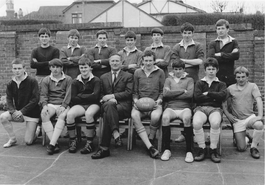 1968 Rugby Team