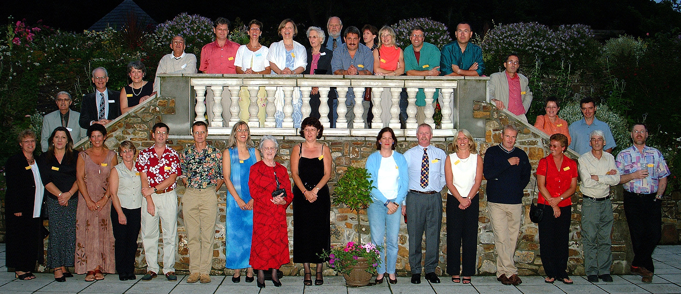 2001 Reunion of the class of 1967-71