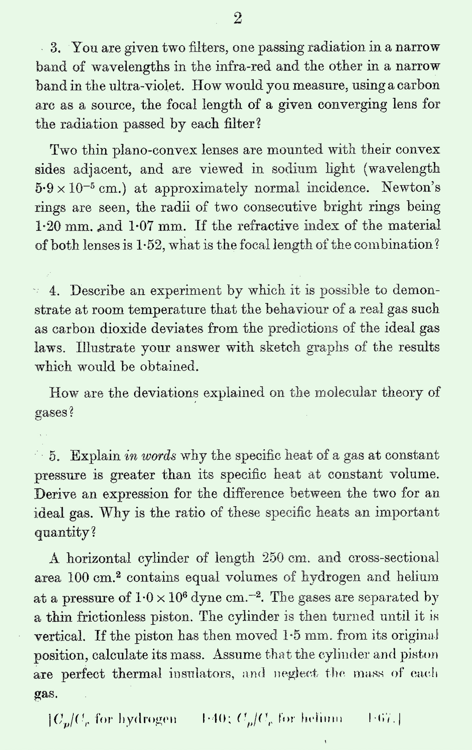1963 S Level Physics page 2