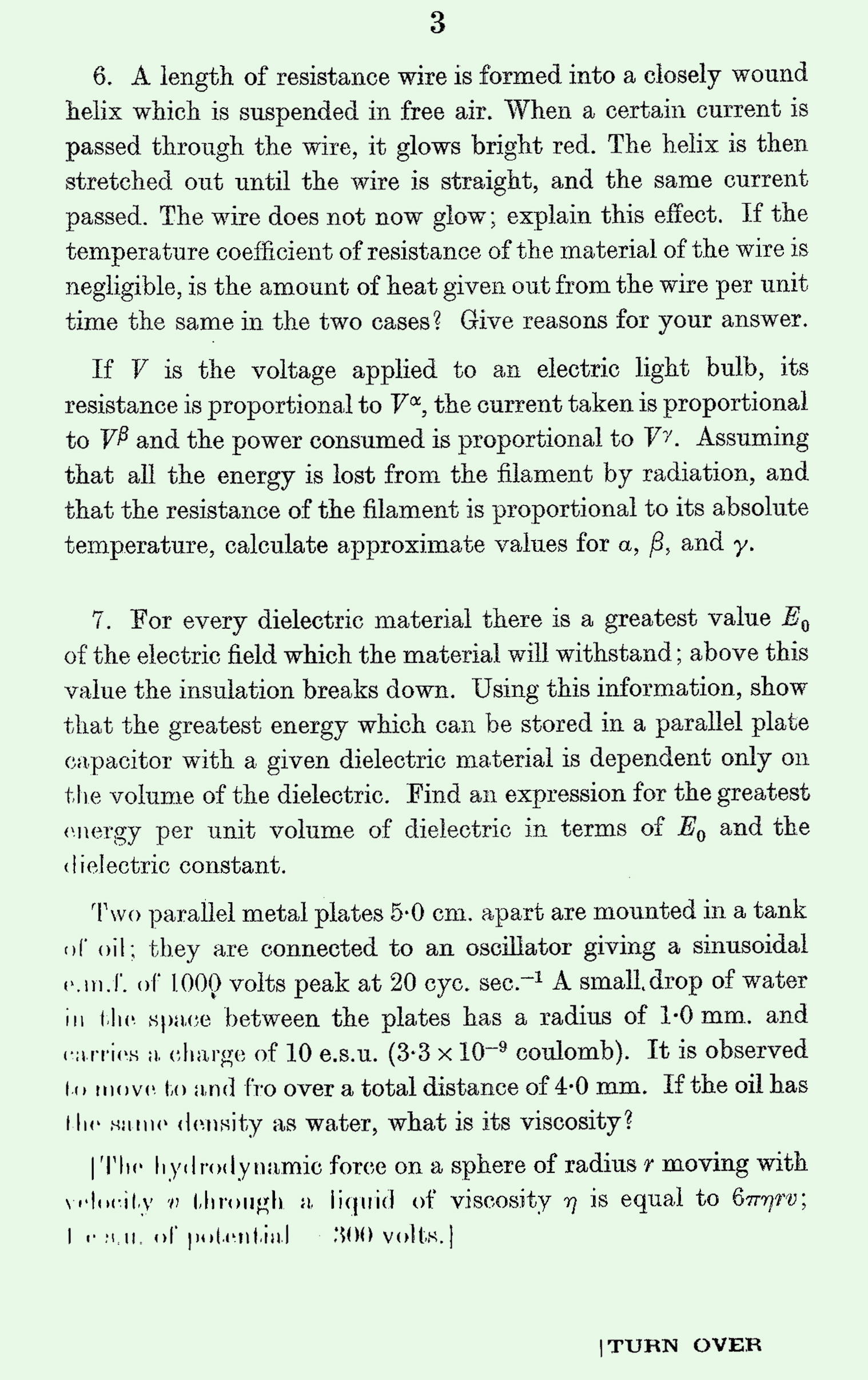 1963 S Level Physics page 3