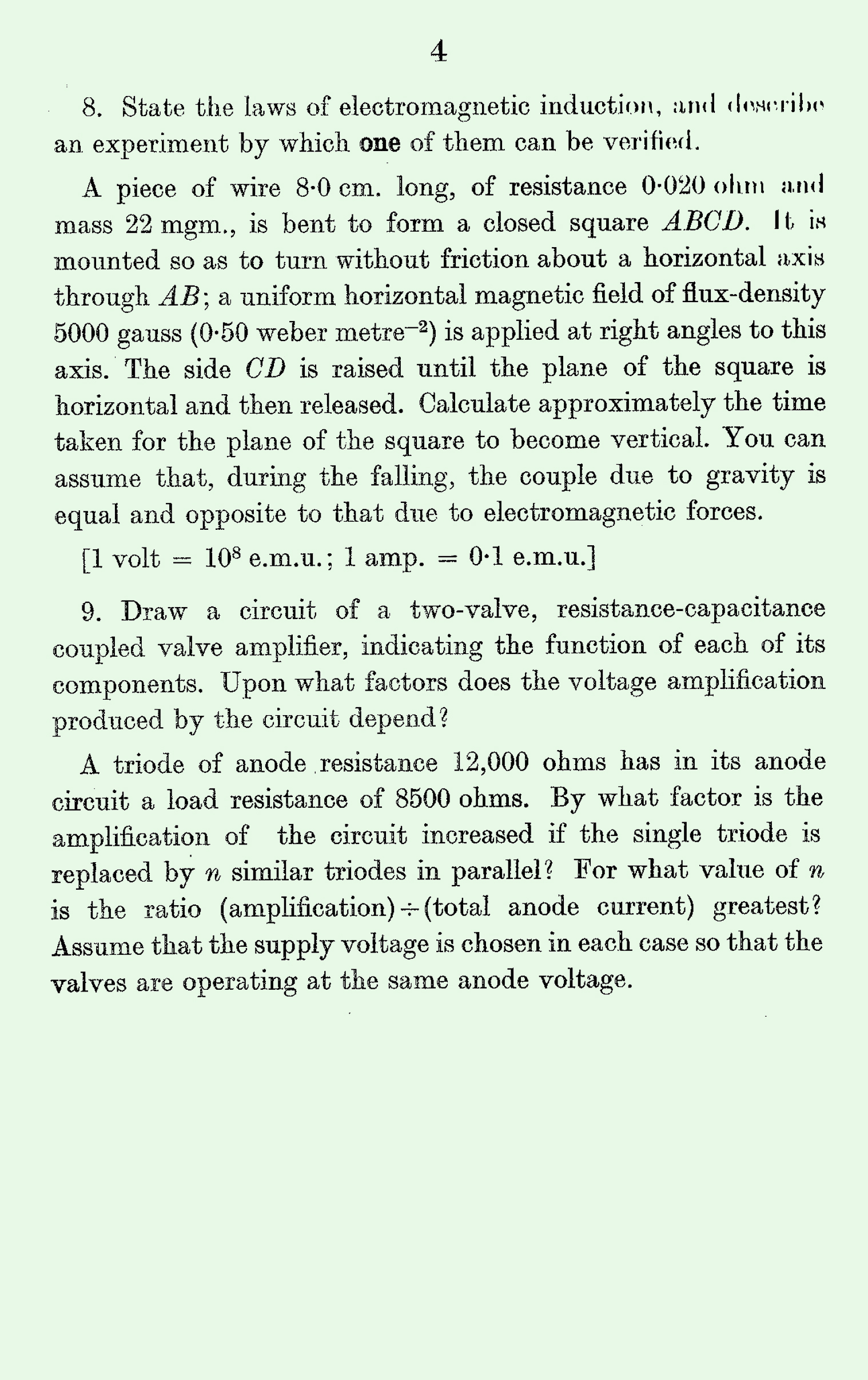 1963 S Level Physics page 4